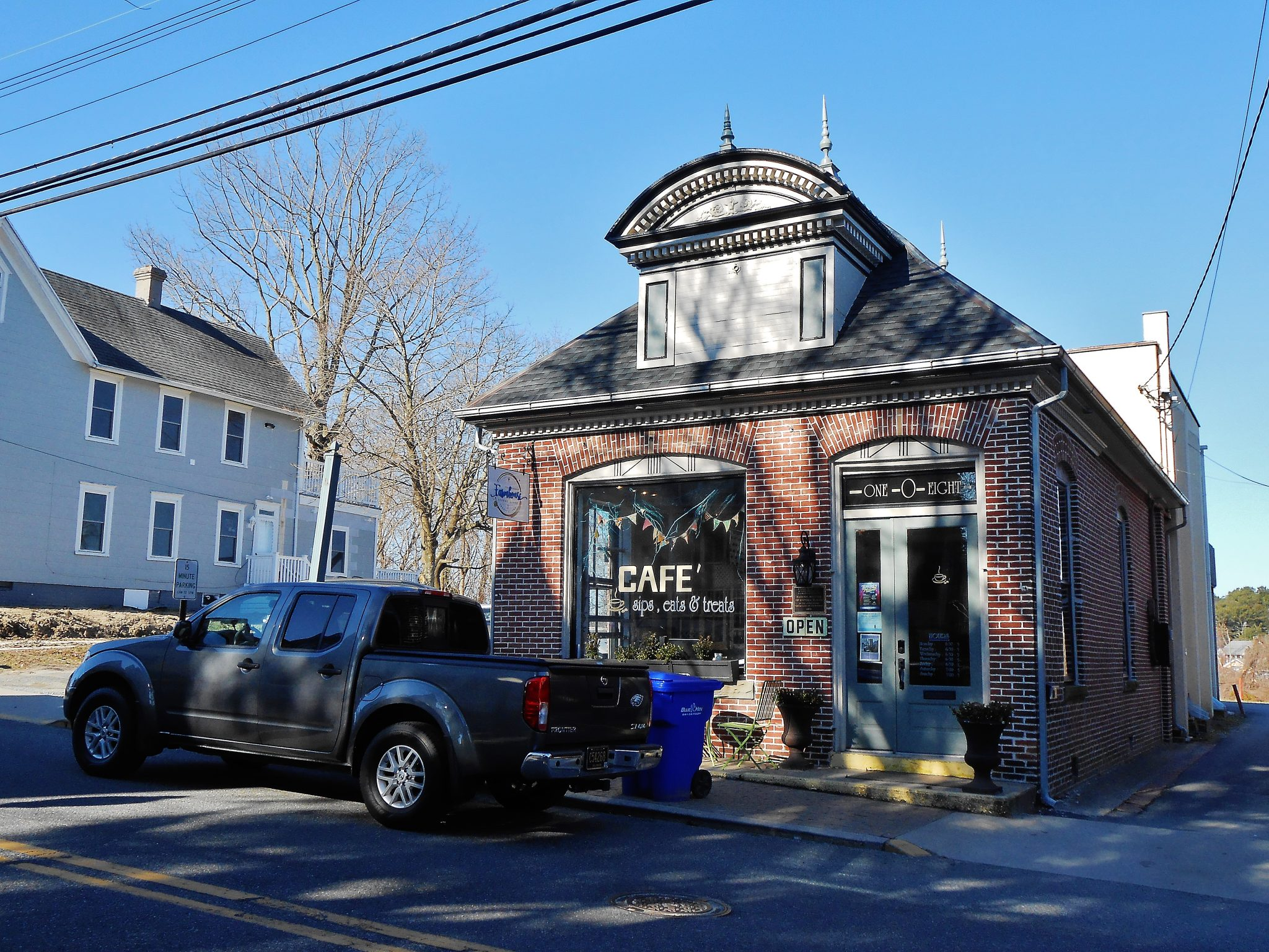 Internet café in Milton, Delaware