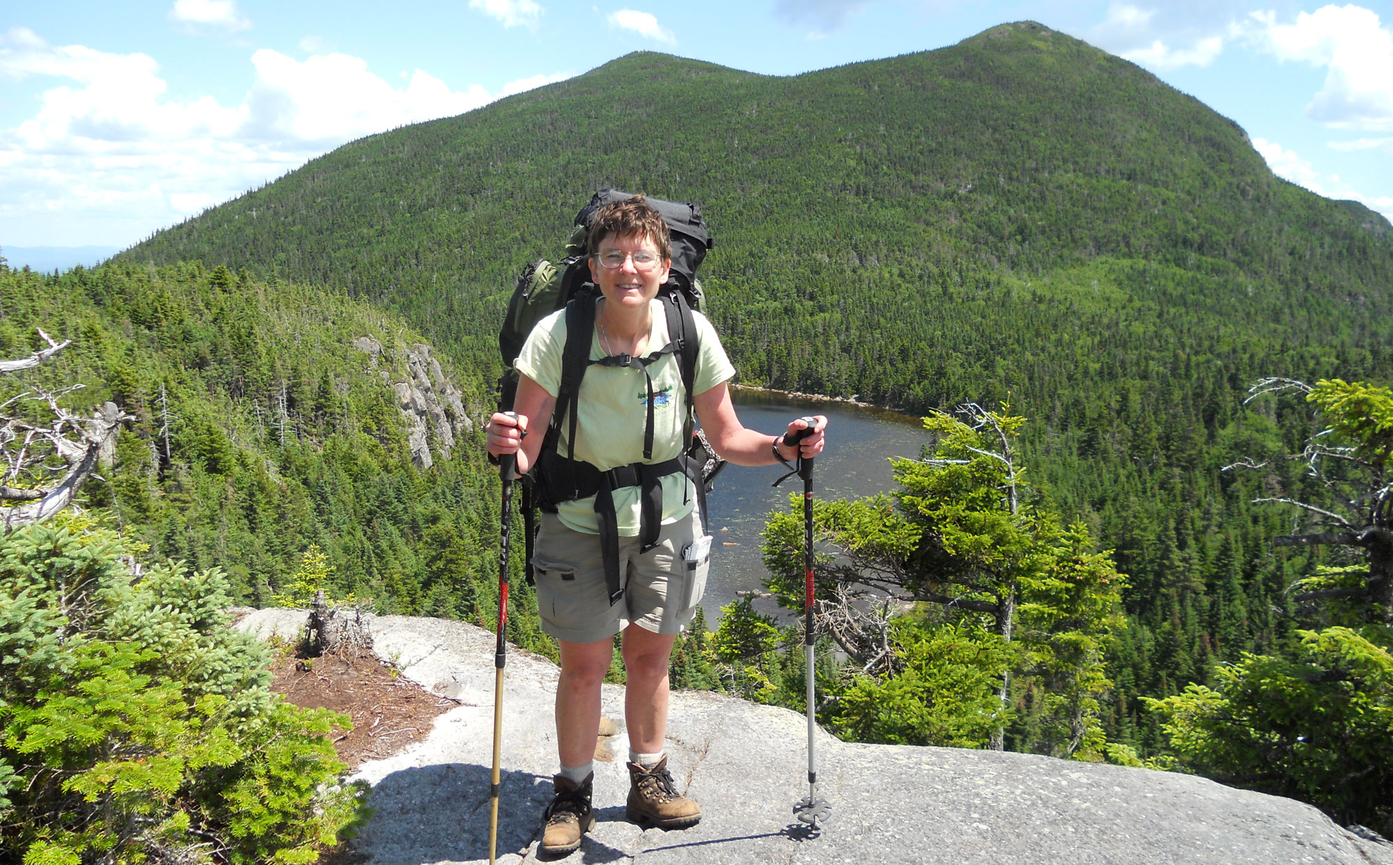 Hiking the Appalachian Trail through the Bigelow Range
