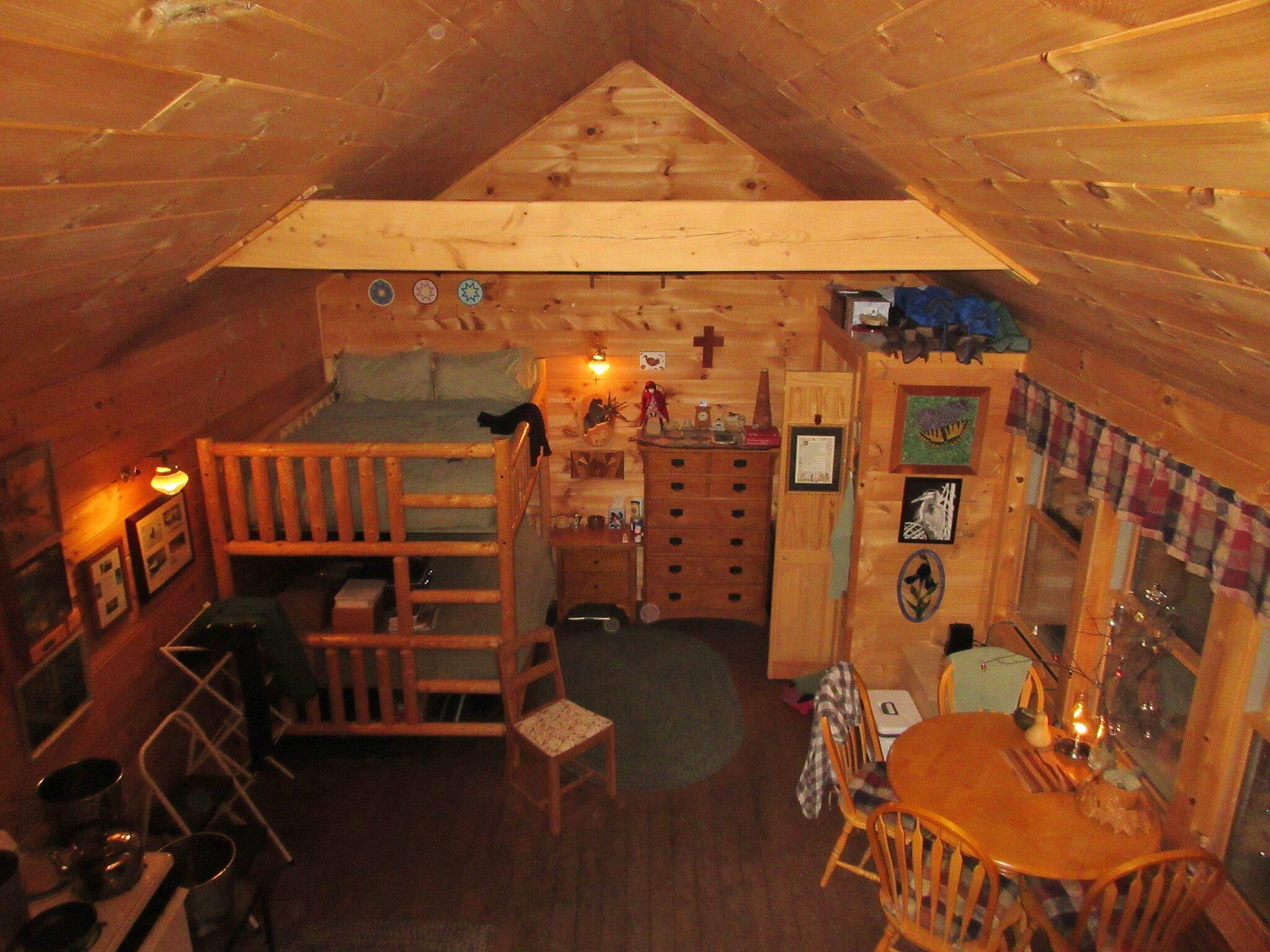 maine woods cabin